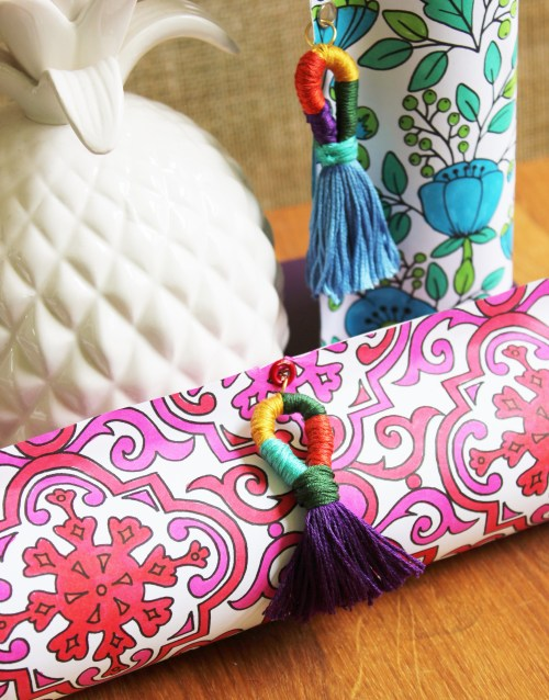 Coloring Book Page Gift Wrap