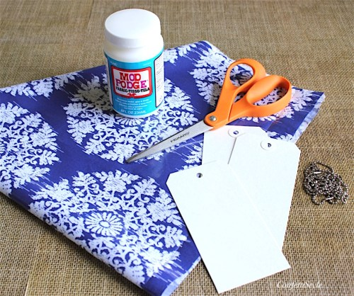 DIY Luggage Tags and Handle Wraps by ConfettiStyle
