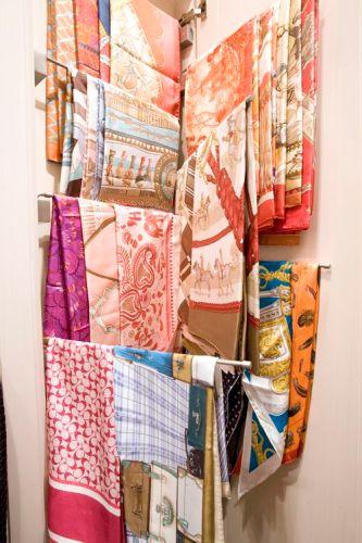 Storage Ideas for Scarves