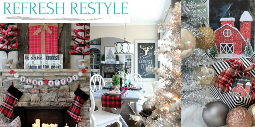 Merry & Bright Holiday Home Highlight Reel--Refresh Restyle