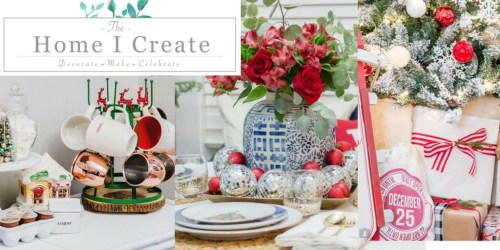 Merry & Bright Holiday Home Highlight Reel--The Home I Create