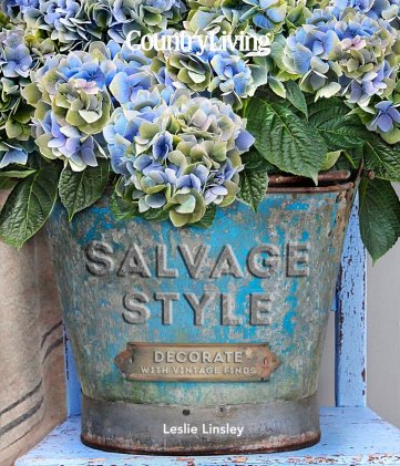 New Entertaining and Design Books for 2017--Salvage Style by Country Living