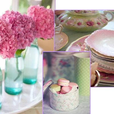 A Party Inspired by Hydrangeas