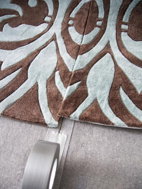 Designer Tricks OF The Trade--Two rugs from one