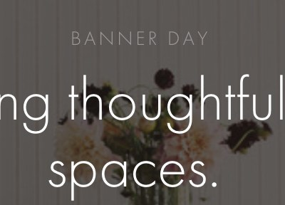 Design Crush:  Banner Day Consulting