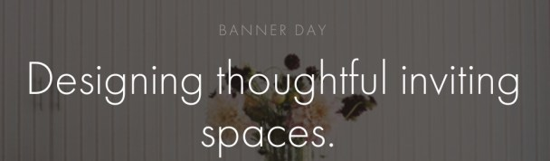 Design Profile: Banner Day Consulting