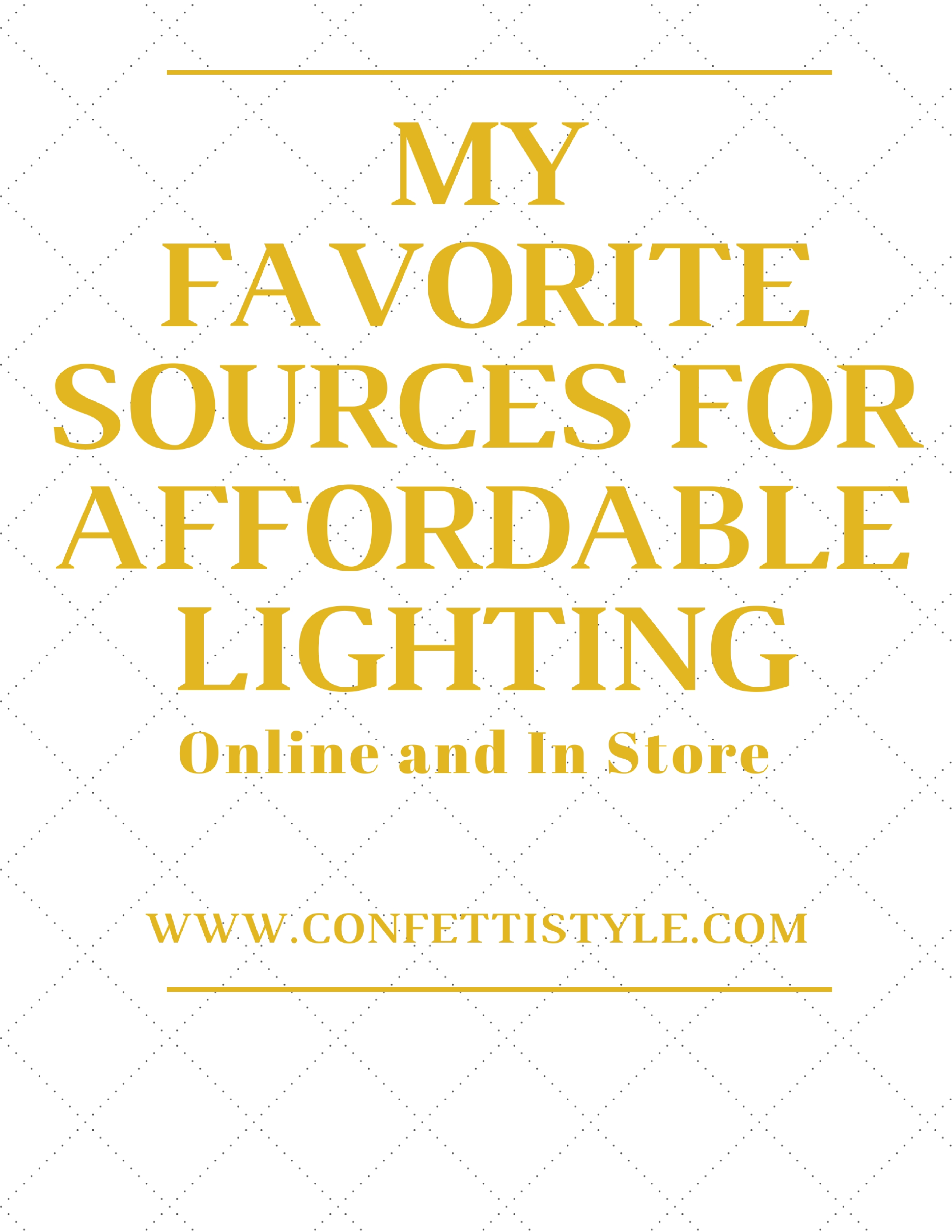 four overhead lights i m loving plus where i shop for lighting my favorite sources for affordable lighting by confettistyle