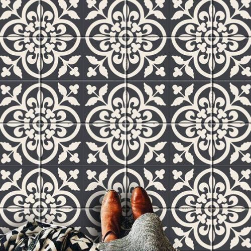 Decorative Vinyl Tiles by Bleucoin on Etsy