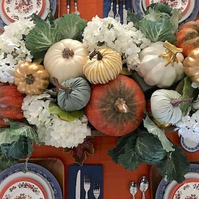 Fall Tablescape Design–Autumn Elegance