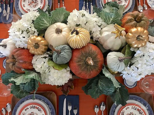 Fall 2017 Tablescape Decor by ConfettiStyle