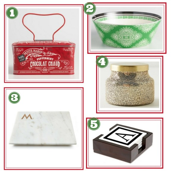 Holiday Gift Guide--Hostess Gifts by ConfettiStyle