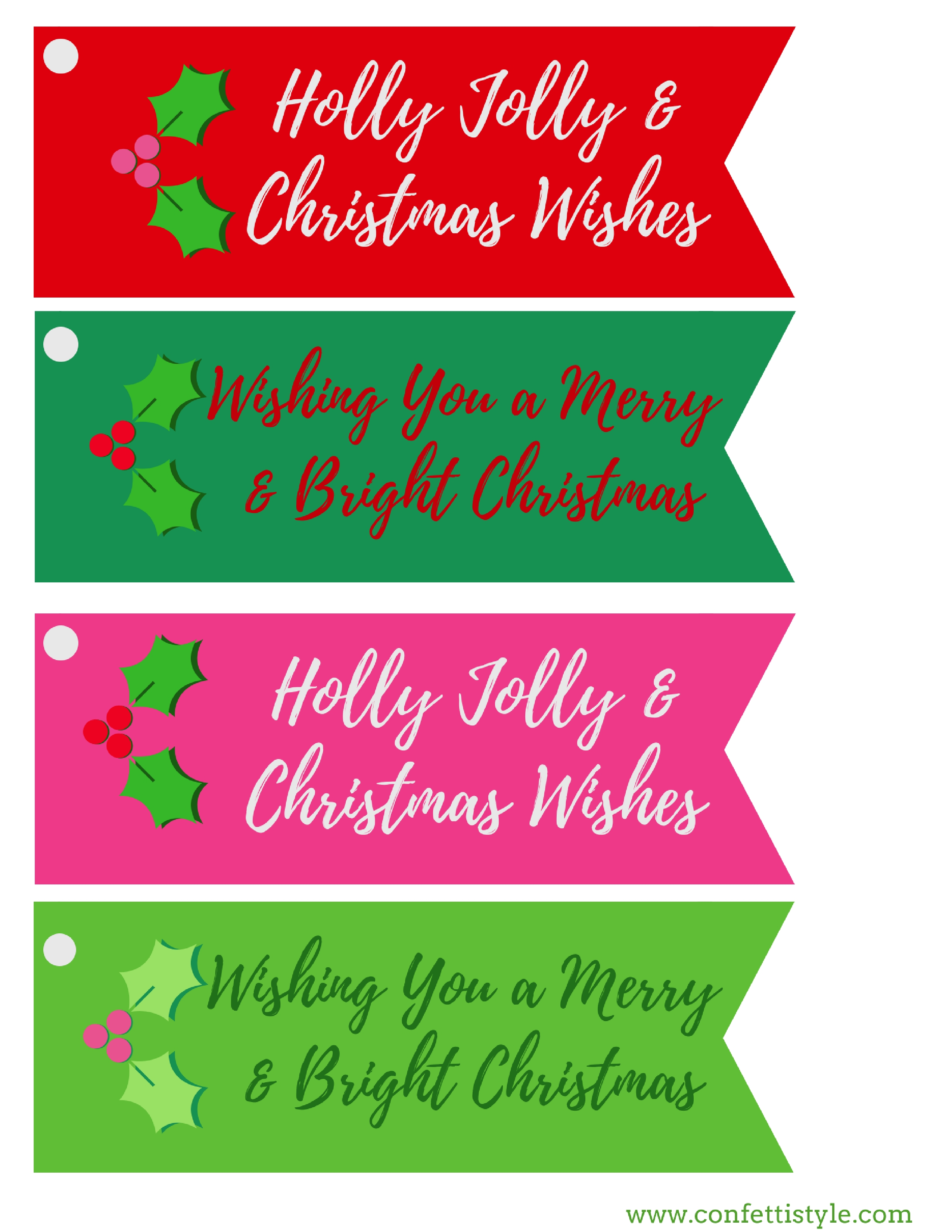 It is a graphic of Astounding Merry Christmas Tags Printable