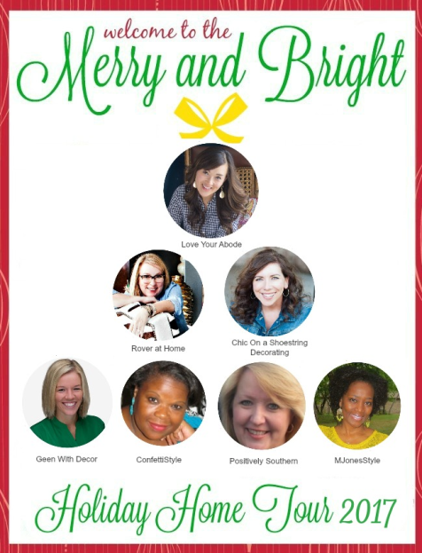 2017 MERRY & BRIGHT HOLIDAY HOME TOUR BLOG HOP
