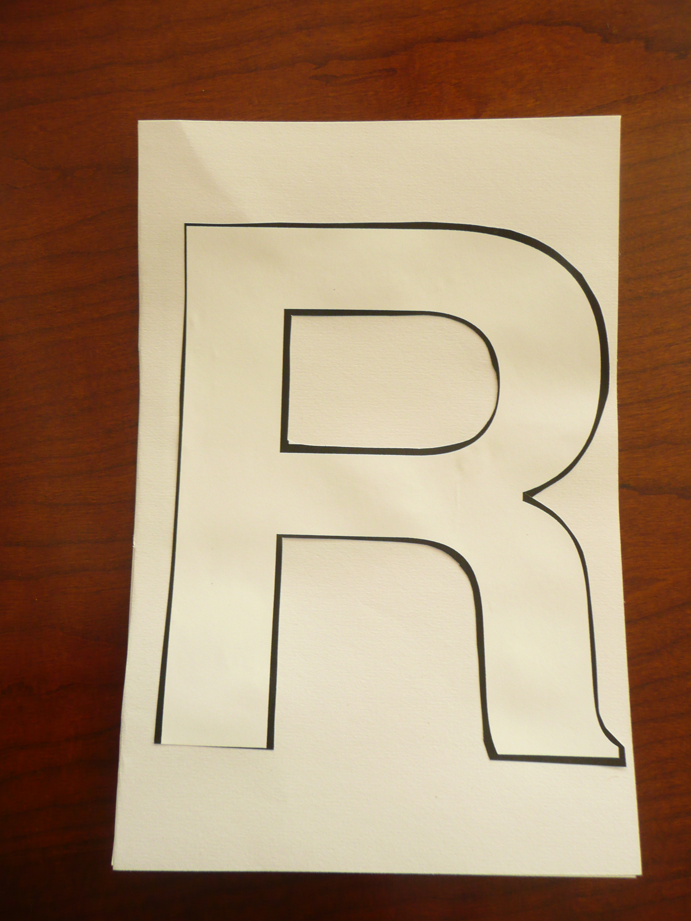 Letter Of The Week R Rainbows Cmp