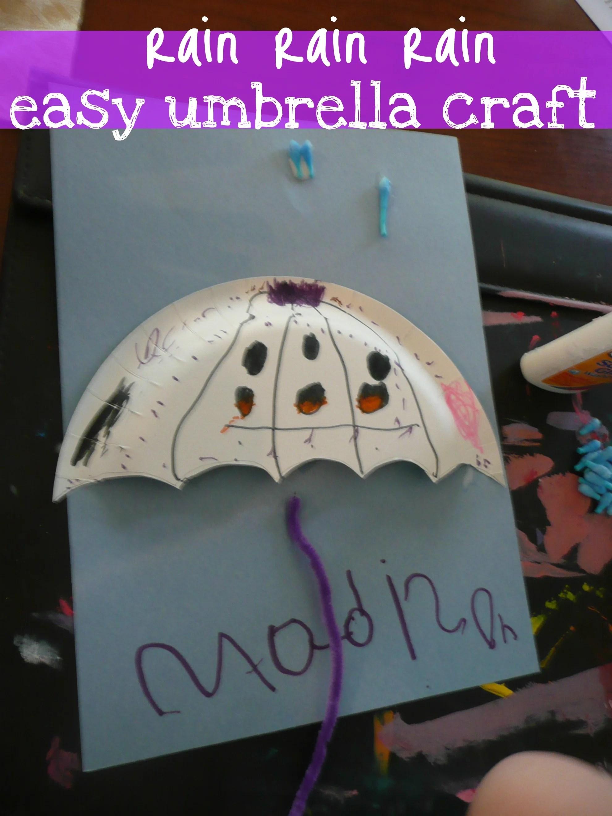 Weather Umbrella Craft Cmp