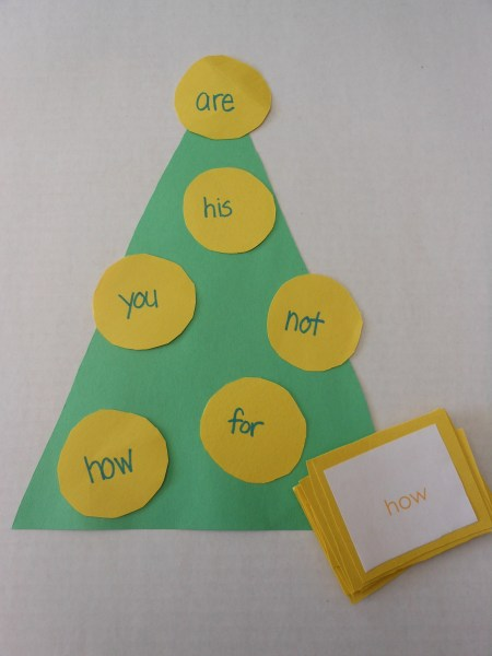 3 Christmas Sight Words Games  CMP sight words
