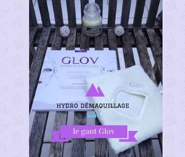 gant démaquillant glov - hydro démaquillage