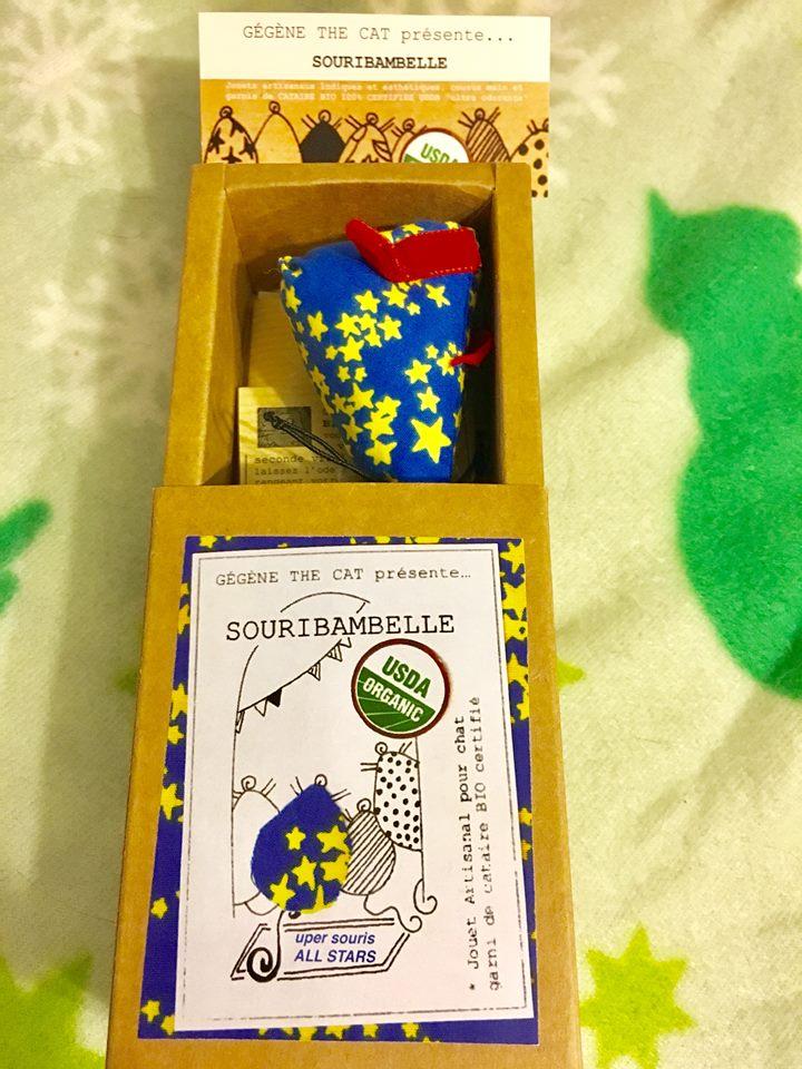 découvrez mon avis sur la souribambelle super souris de Gégène the cat + leur portrait + un concours pour gagner une souribambelle all star artisanale. #entrepreneur #chat #handmade #artisanal #felin