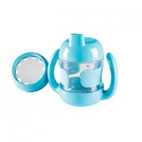 6107000 bleu oxo-tot-set-gobelet-bec-anses-verre-debit-reduit-bleu