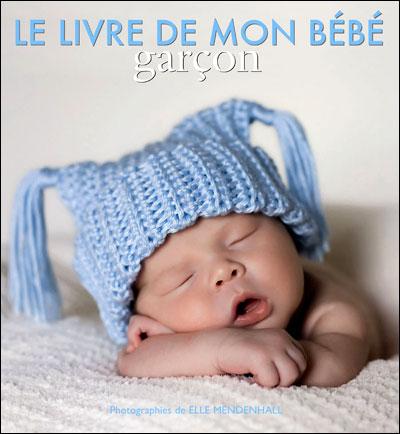 livre de naissance Anne Geddes garçon