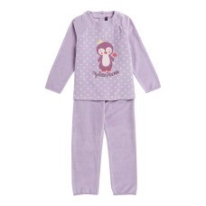 14H5PFQ4PYJ_328_Pyjama_mauve_en_velours_eponge_fille-2-7-ans_Sergent-Maj...