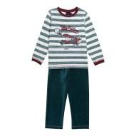 14H5PGQ1PYJ_001_Pyjama_raye_ecru_en_velours_eponge_garcon-2-7-ans_Sergen...