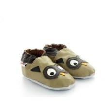 chaussons-bebe-en-cuir-souple-hiboux