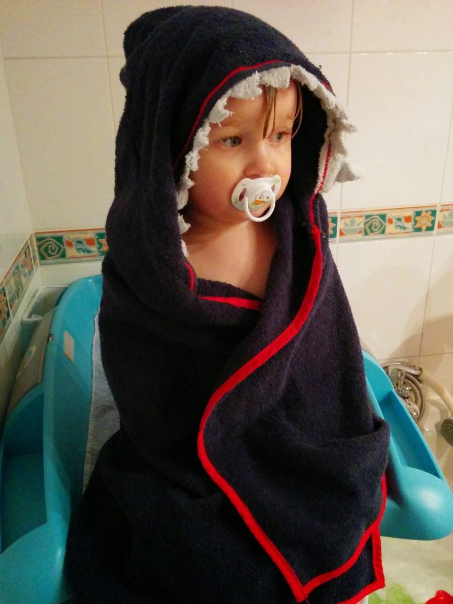 Tuto Cape de bain pour enfant