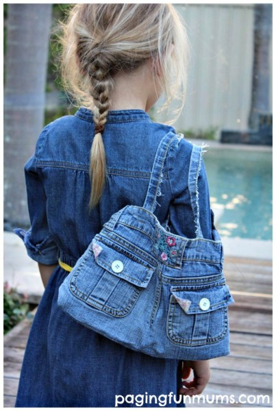 Stylish-Denim-Handbag-made-from-an-old-pair-of-Jeans