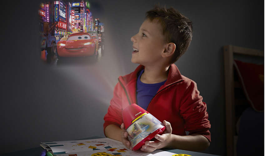 Philips Disney - Veilleuse projecteur Cars 2