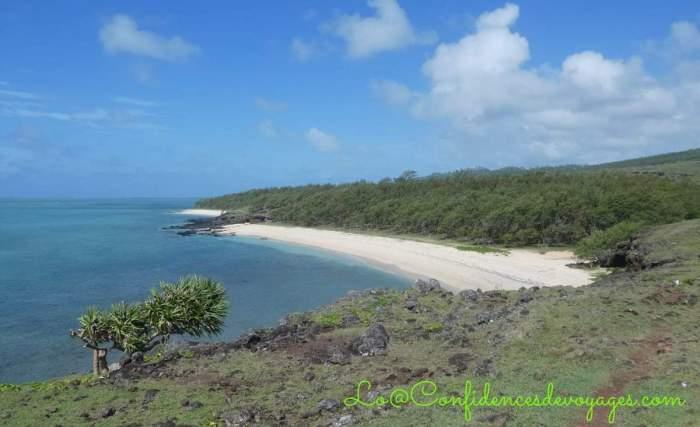 Plages de l'île Rodrigues