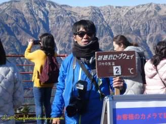 Téléphérique japonais