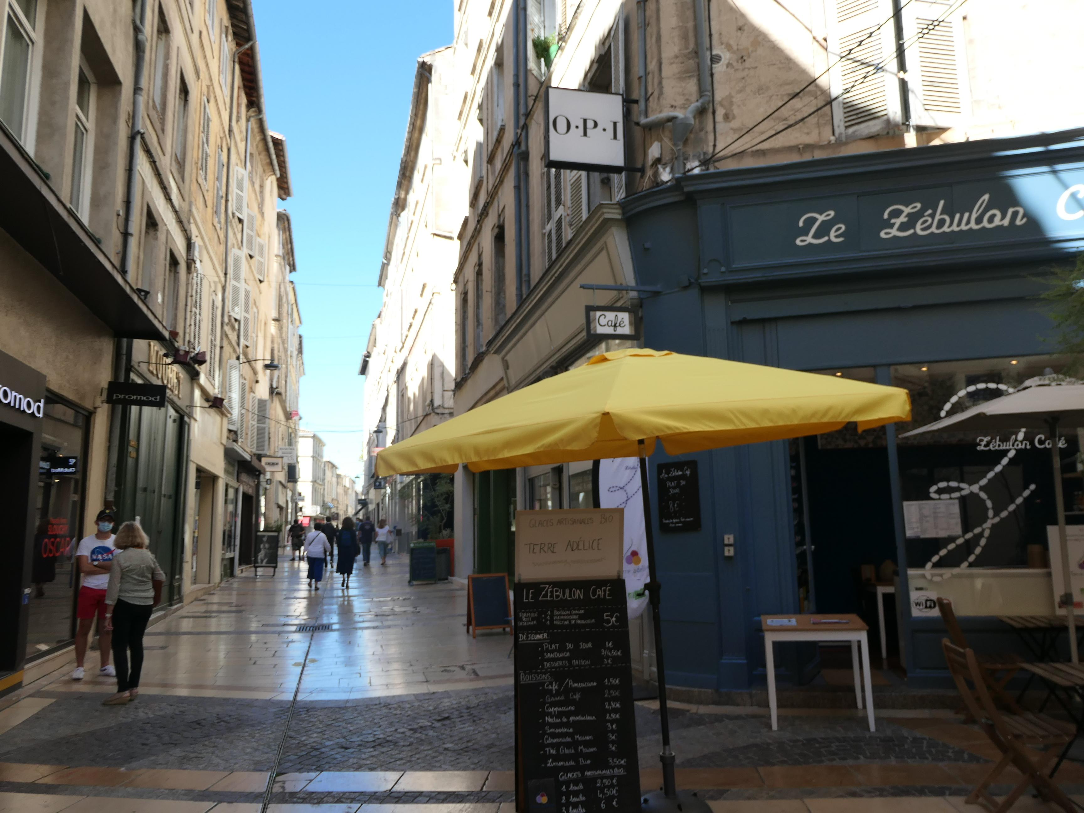 centre-ville historique d'Avignon