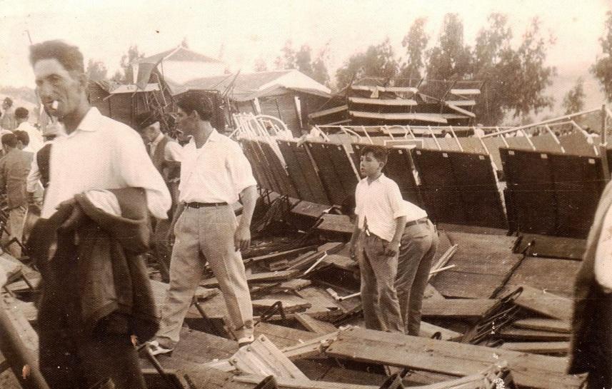 Desolación e impotencia ante lo que dejaban atrás. Agosto 1961