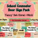 Counselor Door Sign Pack