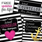 Counselors and Specialists Planner