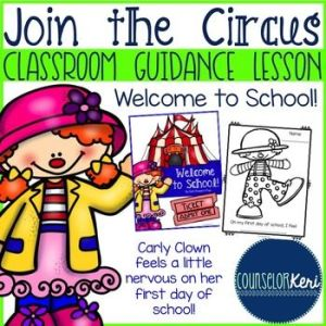 Classroom Guidance Lesson: Welcome to School