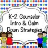 K-2 Intro Counselor
