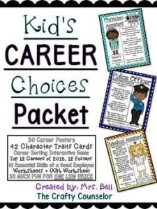 Kid's Career Choices Packet