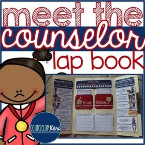 Meet the Counselor Lap Book