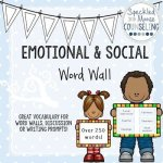 Social Emotional Word Wall