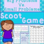 Big Problem Vs. Small Problem Scoot Game