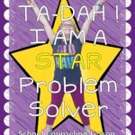 Ta-Dah! I'm a STAR Problem Solver: School Counseling Lesson