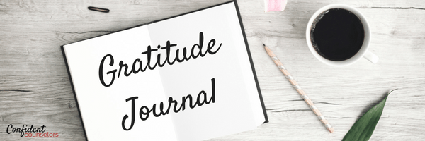 A school counselor's gratitude journal. Dear Diary, I'm thankful for interventions that work and pumpkin spice muffins.