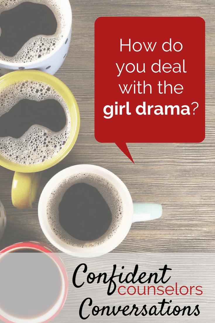 Girl Drama Conversation Pin