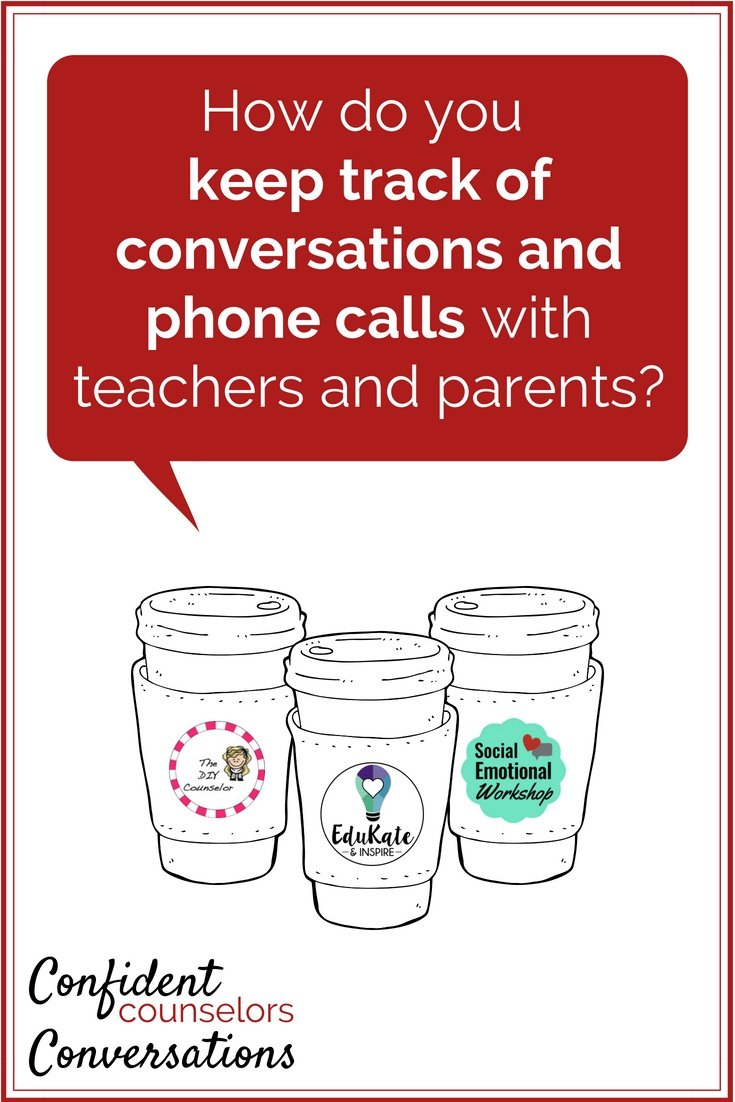 How do you track all the conversations and phone calls in school? School counselors receive a ton of communication throughout the day and they need to act on a lot of it. What system do you use to track conversations and phone calls?