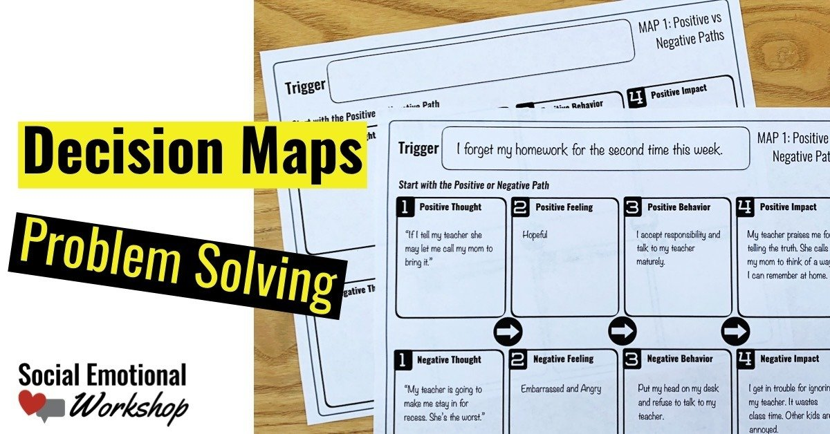 Decision Maps for problem solving in individual counseling