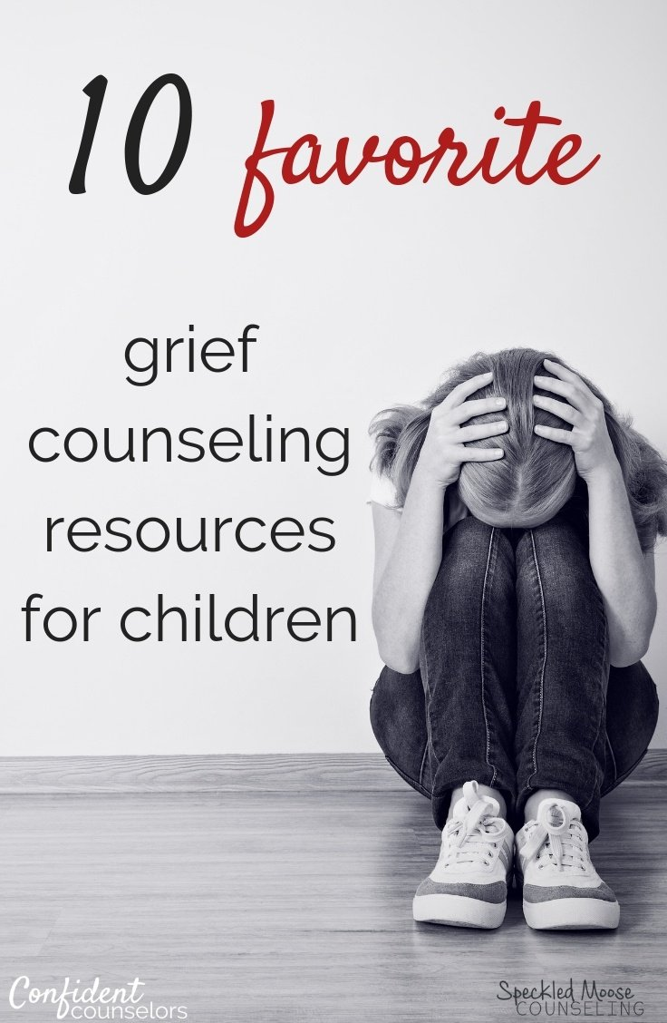 A must-read review of ten favorite grief counseling resources for children. Perfect for any counselor working with children who have experienced grief or loss.