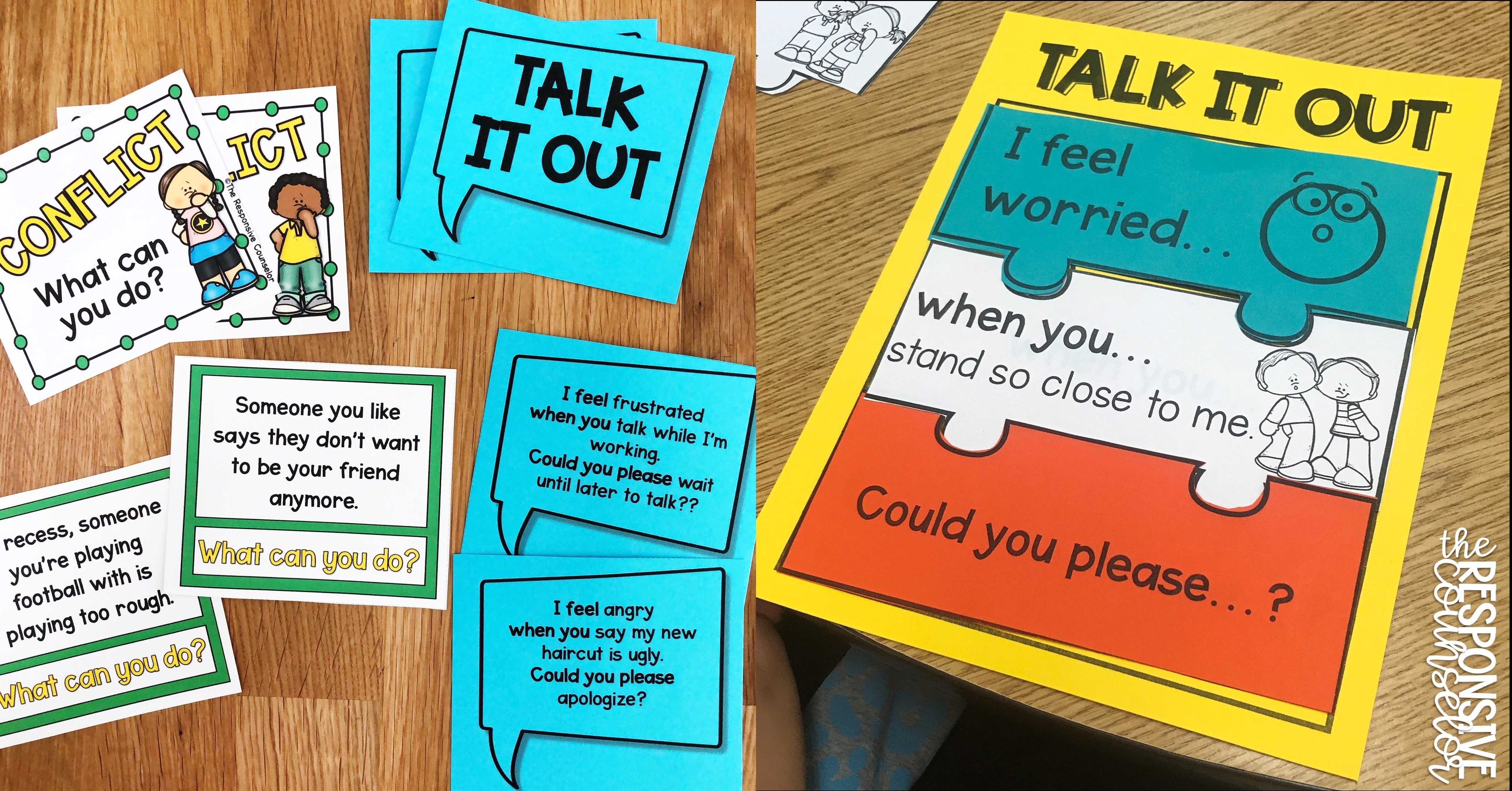 teaching i-messages for restorative practices