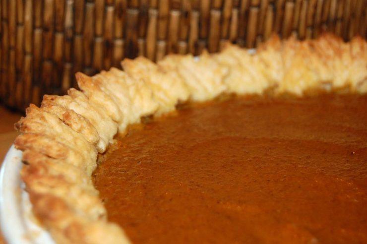 Autumn Leaf Pumpkin Pie Recipe-Confident in the Kitchen-Jean Miller